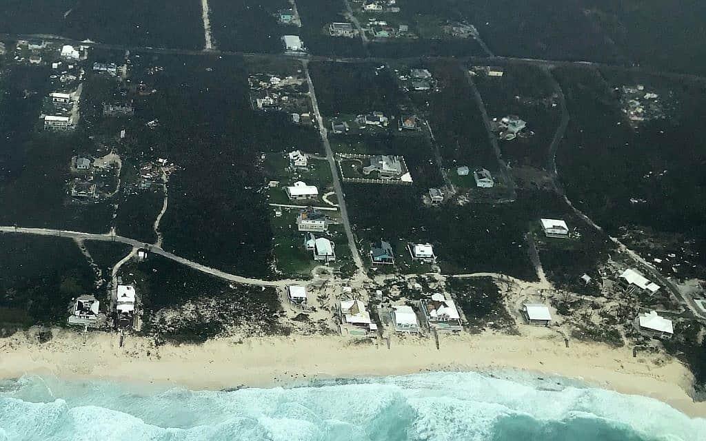 נזקי ההצפות שגרם הוריקן דוריאן באיי באהאמה (צילום: HeadKnowles Foundation via Getty Images)