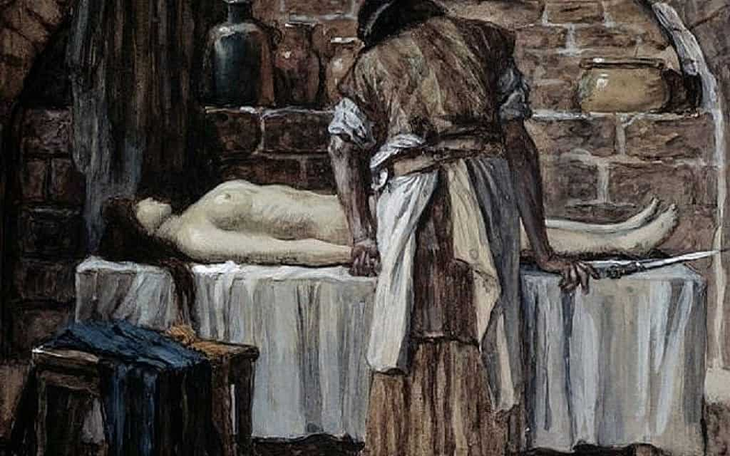 The Levite Before The Corpse Of His Wife, James Tissot
