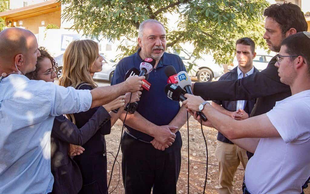 יושב ראש ישראל ביתנו, אביגדור ליברמן (צילום: פלאש 90)