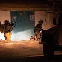"""מעצר החוליה שרצחה את רנה שנרב (צילום: דובר צה""""ל)"""