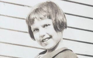ברברה גריפית', בגיל 4 (צילום: באדיבות ברברה קלמנס גריפית')