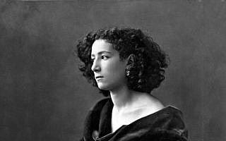 שרה ברנהרדט, 1864 (צילום: Félix Nadar)