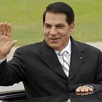 נשיא תוניסיה לשעבר, זין אל-עאבדין בן עלי (צילום: Hassene Dridi, AP)