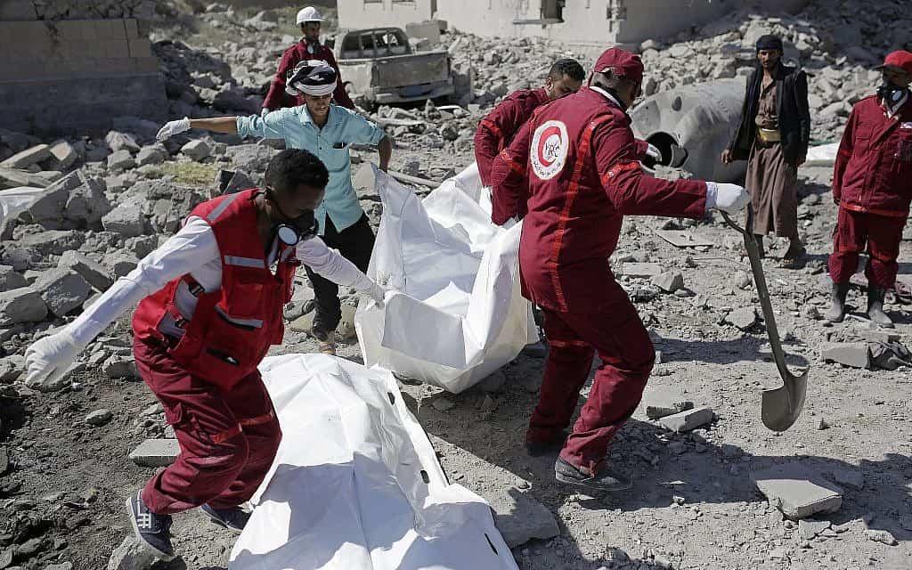 מלחמת האזרחים בתימן (צילום: AP Photo Hani Mohammed)