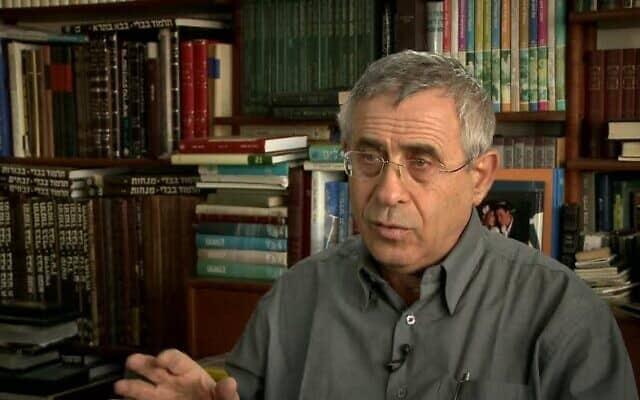 ד״ר מרדכי קידר (צילום: ערוץ 33)