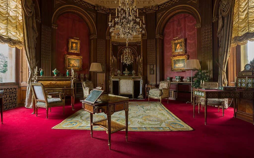 חדר ה-Tower Drawing Room בטירת ואדסדון (צילום: כריס לייסי (c) הקרן הלאומית, טירת ואדסדון)
