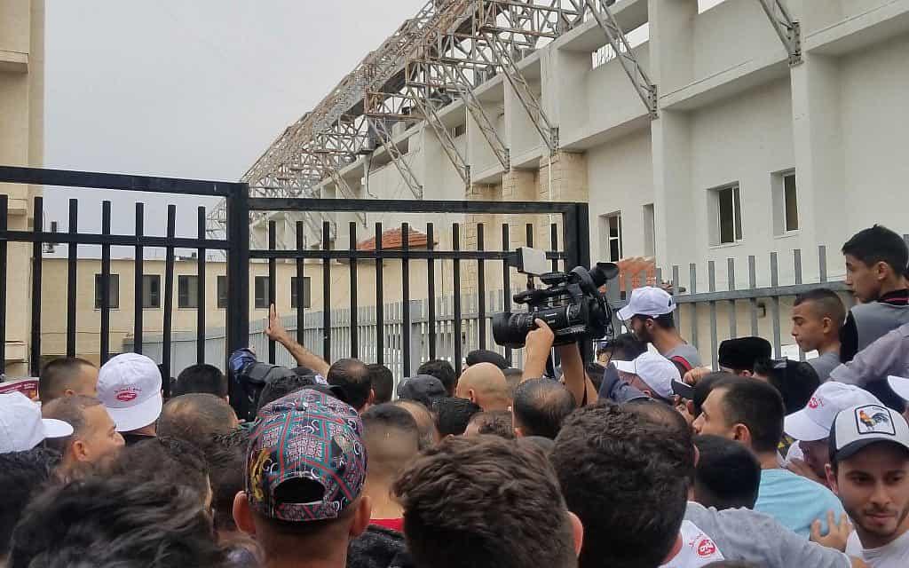 משחק כדורגל ברשות הפלסטינית, אוקטובר 2019 (צילום: אדם רזגון)