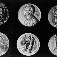 מדליות פרס נובל (צילום: AP Photo)