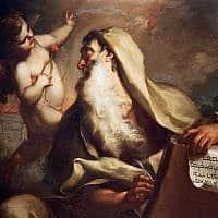הנביא ישעיהו. ציור: אנטוניו בלסטרה