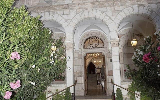 האכסניה האוסטרית הייתה בית ההארחה הראשון לצליינים נוצרים בירושלים, שפתח את שעריו בעיר העתיקה ב-1863 (צילום: גדעון גרייף)