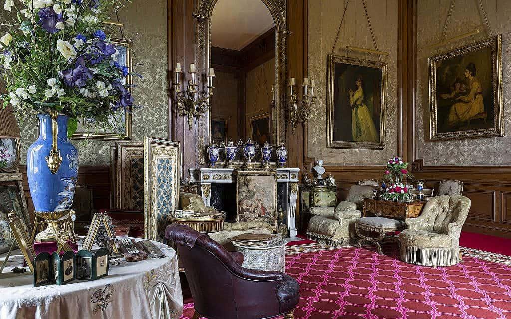 חדר הברון בטירת ואדסדון (צילום: כריס לייסי (c) הקרן הלאומית, טירת ואדסדון)