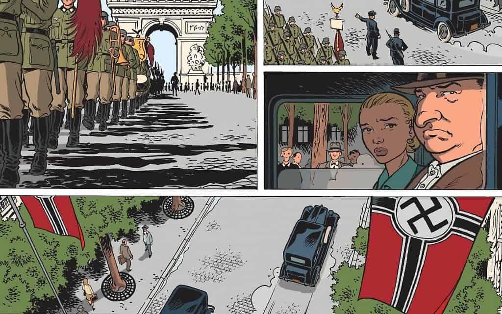 """מתוך """"היֹה היה בצרפת"""" (צילום: כל הזכויות שמורות ל-Éditions Glénat)"""
