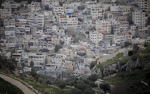 שכנות סילוואן במזרח ירושלים, ארכיון (צילום: Yonatan Sindel/Flash90)