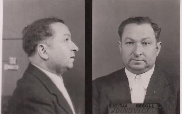תמונתו של ז'ואנוביסי מתעודת הזהות שלו, אוקטובר 1944 (צילום: רשות הציבור, ויקישיתוף)