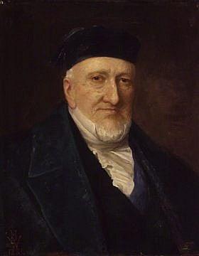משה (מוזס) מונטיפיורי, בציור של הנרי ווייגאל מ-1881 (צילום: ויקימדיה\ נחלת הכלל)