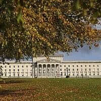 בניין הפרלמנט של צפון אירלנד בבלפסט (צילום: Peter Morrison, AP)