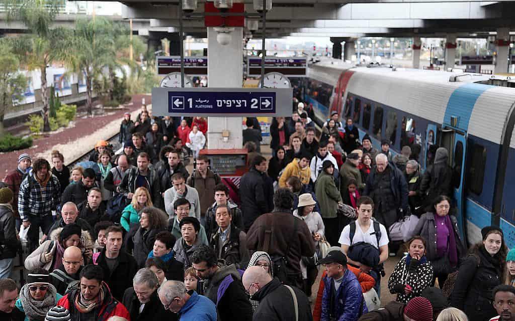 תחנת הרכבת בירושלים (צילום: גדעון מרקוביץ', פלאש 90)