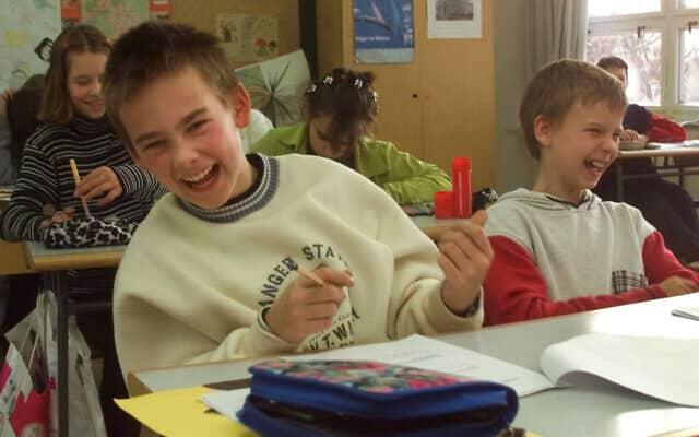 בית ספר יסודי בגרמניה, אילוסטרציה (צילום: jan Bauer AP)