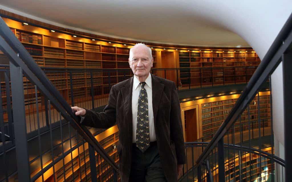 מאיר שמגר בבית המשפט העליון, 2008 (צילום: יוסי זמיר, פלאש 90)