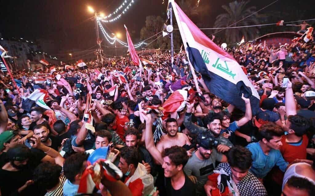 מפגינים באיראן, 14 בנובמבר 2019 (צילום: AP)