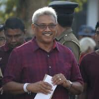 גוטאבאיה ראג'אפסקה (צילום: Eranga Jayawardena, AP)