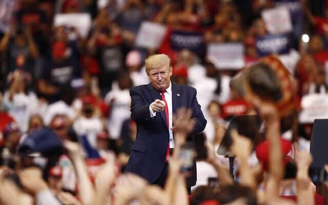דונלד טראמפ (צילום: AP Photo/Brynn Anderson)