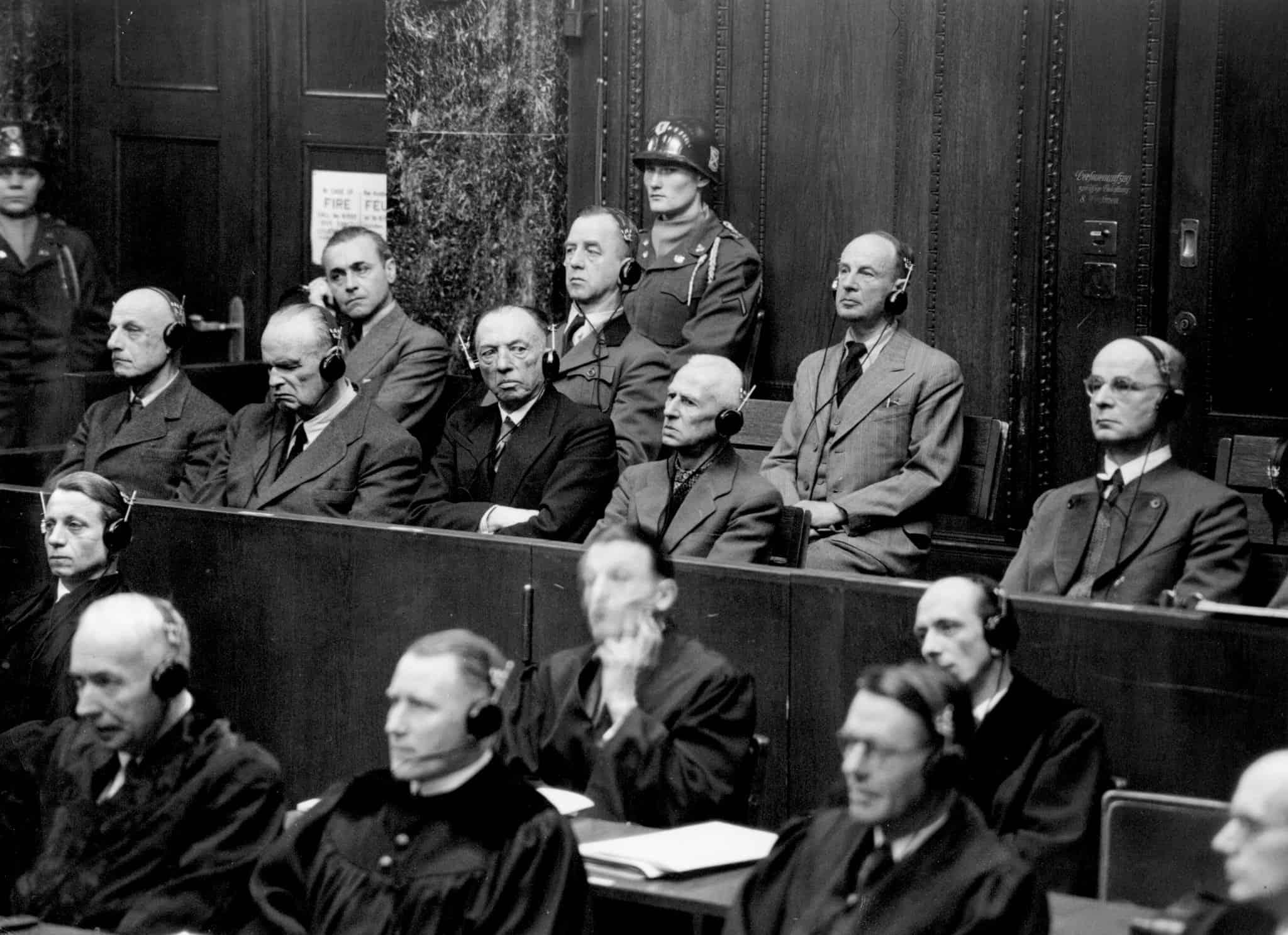 משפטי נירנברג (צילום: AP-Photo)