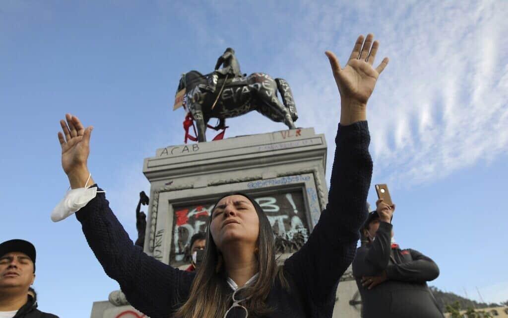 Chile Protests (צילום: AP Photo/Rodrigo Abd)