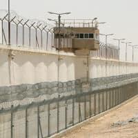 כלא ליד באר שבע – ארכיון (צילום: משה שי, פלאש 90)