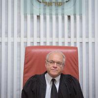 שופט בית המשפט העליון ניל הנדל (צילום: מרים אלסטר/פלאש90)