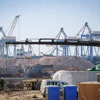 נמל אשדוד (צילום: Flash90)