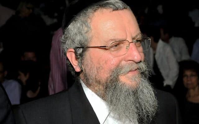 הרב אברהם אלימלך פירר (צילום: יוסי זליגר/פלאש90)