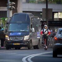 תחבורה ציבורית בשבת (צילום: Miriam Alster/FLASH90)