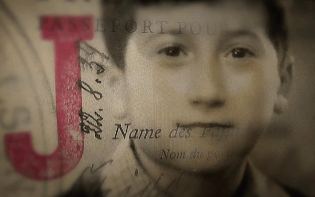 הדרכון של הרברט גילדין, שהוחתם באות J (צילום: באדיבות טיילר גילדין)