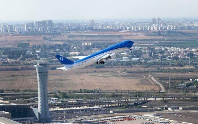 מטוס ראשי המדינה (צילום: יואב וייס, באדיבות התעשייה האווירית)