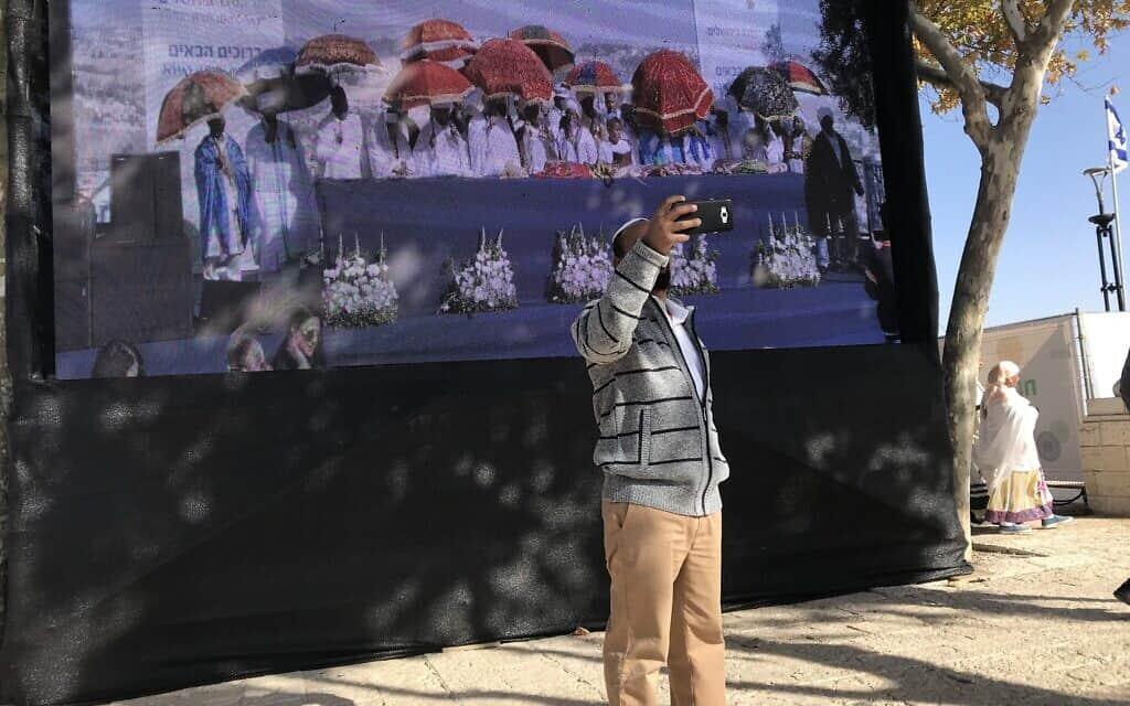 חגיגות הסיגד בירושלים (צילום: אמיר בן-דוד)