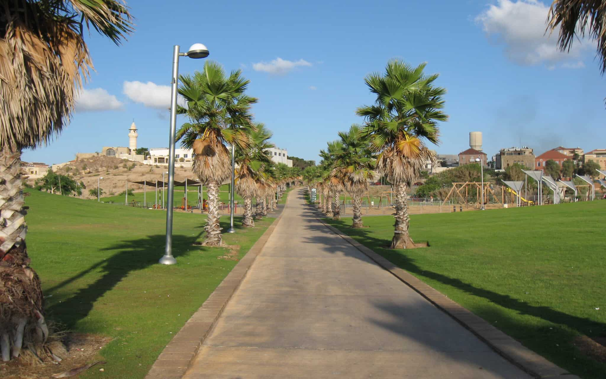 פארק מדרון יפו (צילום: Ori~/Wikipedia)
