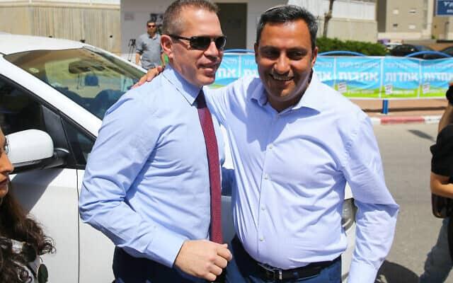 ראש עיריית שדרות, אלון דוידי (צילום: פלאש 90)
