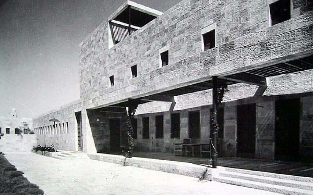 וילה שוקן המקורית, בעיצוב האדריכל אריך מנדלסון