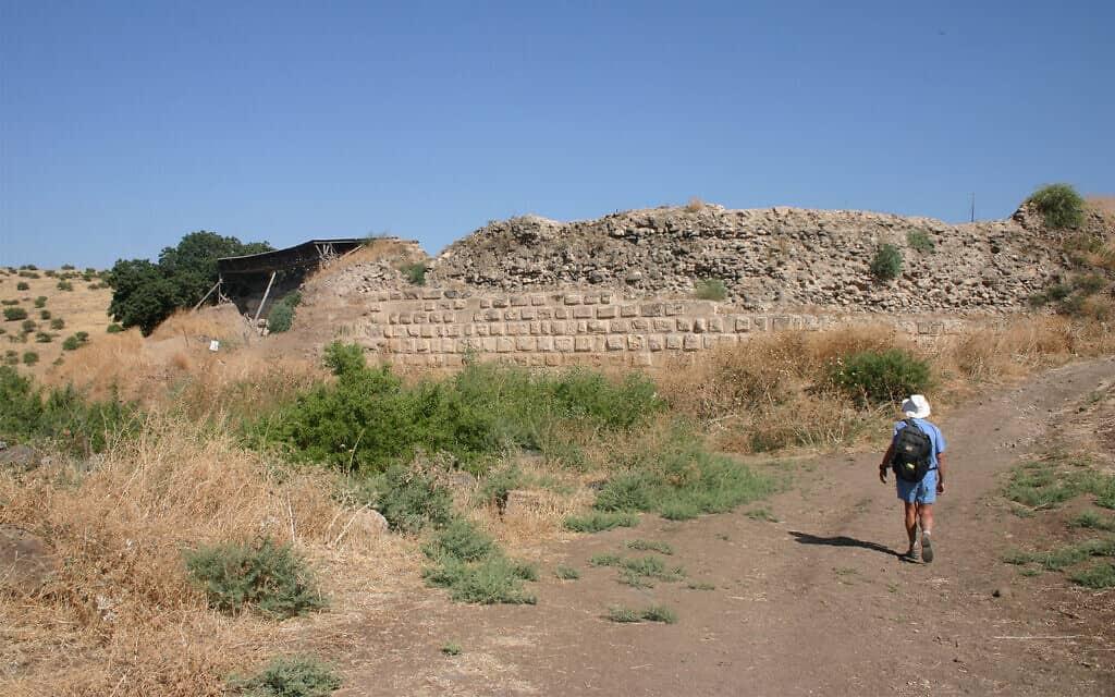 מצד עתרת נהרס ברובו על ידי צלאח א-דין. הארכאולוגים מצאו שרידים מהמבנה ב-1993 (צילום: שמואל בר-עם)
