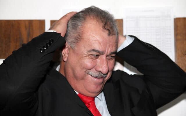 """יו""""ר ועדת המעקב של ערביי ישראל, מוחמד ברכה (צילום: גדעון מרקוביץ', פלאש 90)"""