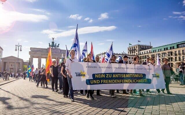 צעדת החיים, ה-March of Life, בגדאנסק, פולין, ב-2019 (צילום: Courtesy)