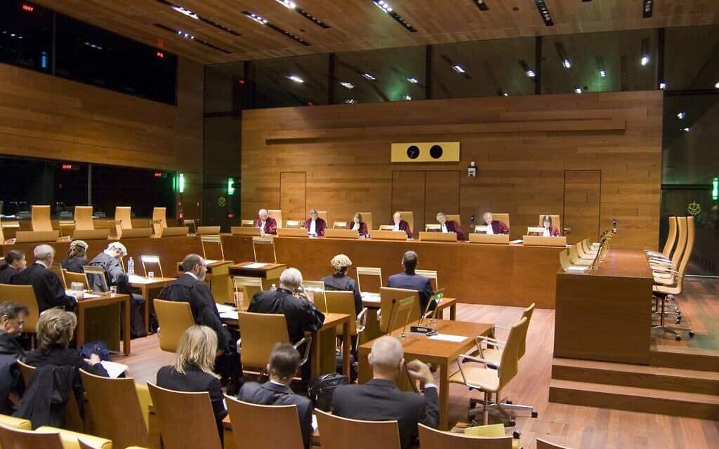 שימוע של בית הדין הגבוה לצדק של האיחוד האירופי, ארכיון (צילום: בית הדין הגבוה לצדק של האיחוד האירופי)