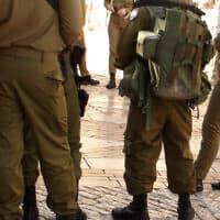 """חיילי צה""""ל, אילוסטרציה (צילום: iStock)"""