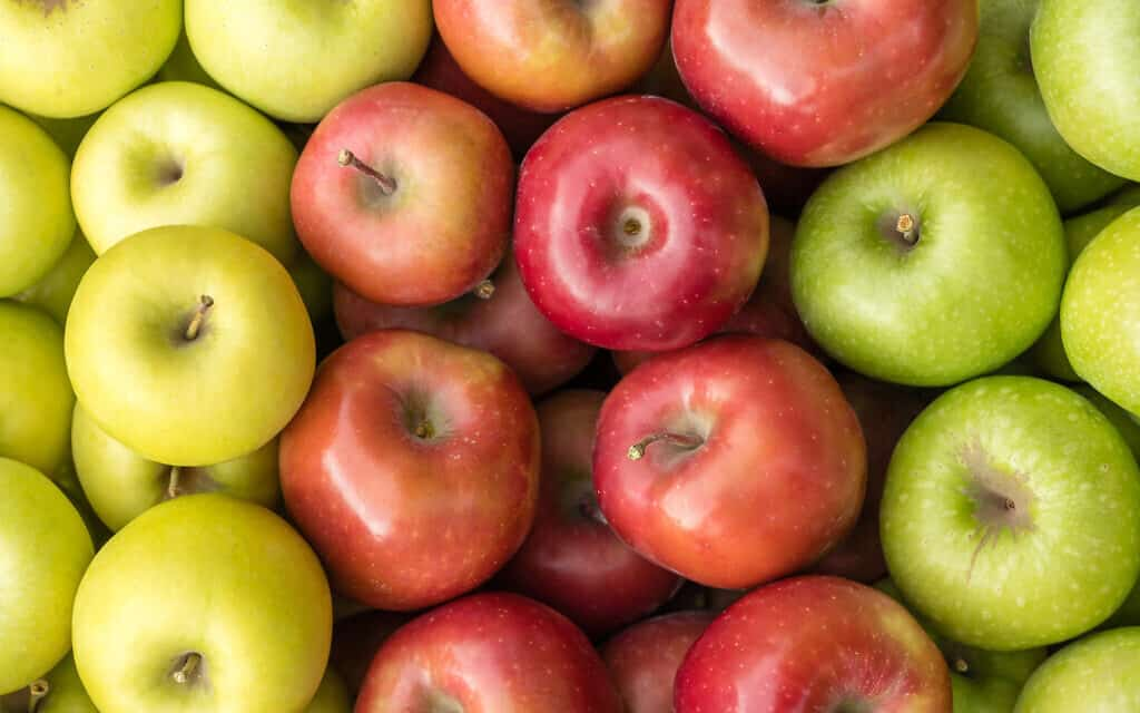 תפוחים, אילוסטרציה (צילום: istockphoto)