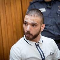 ראיד רושרוש, רוצח אשתו תהילה נגר (צילום: יונתן סינדל, פלאש 90)