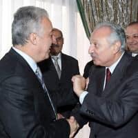 מוחמד ספדי (מימין) (צילום: Bassem Tellawi, AP)