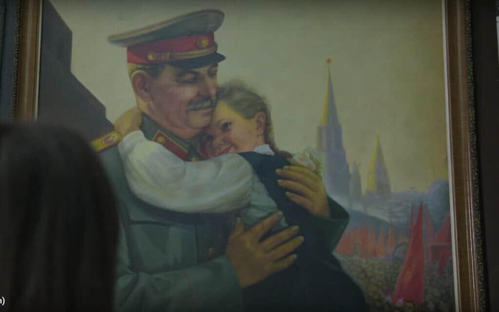 סטאלין, צילום מסך מהסרט:  The Soviet Scar   Al Jazeera Correspondent