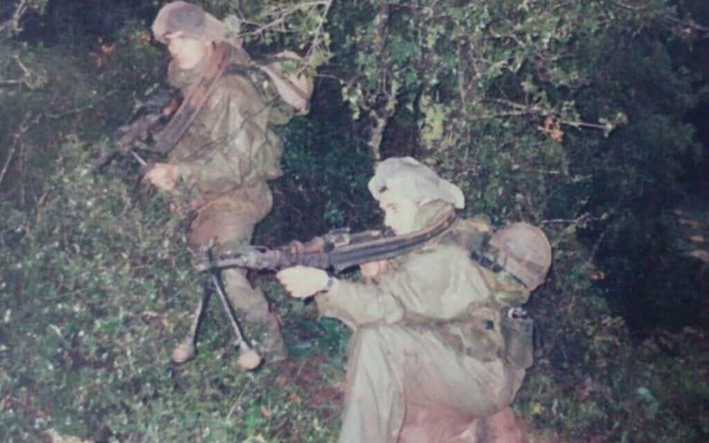 """לוחמי יחידת אגוז בפעילות מבצעית בדרום לבנון. (צילום: צילום: דובר צה""""ל.)"""