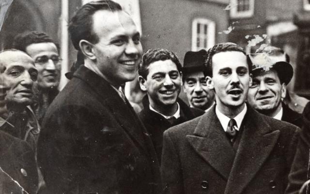 פלמברג ווימבורן לאחר זיכוים מאשמת ניסיון לרצח (צילום: באדיבות ברברה למברט)